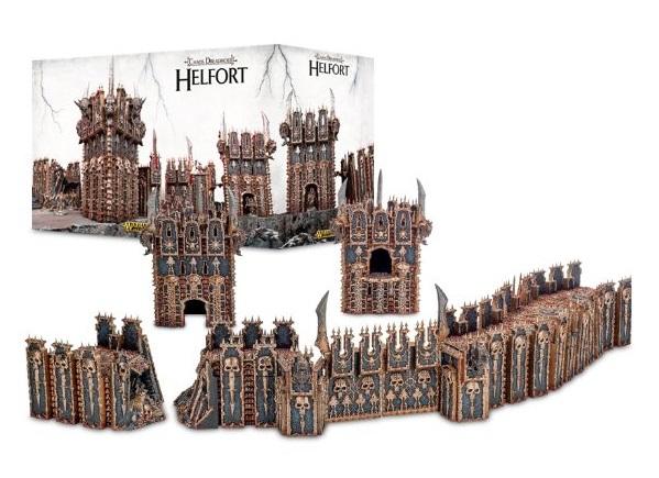 Chaos Dreadhold Helfort - Citadel scenery from Games Workshop